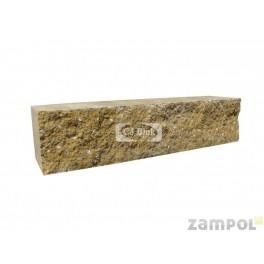 Cegła betonowa elewacyjna jednostronnie łupany CBE-9