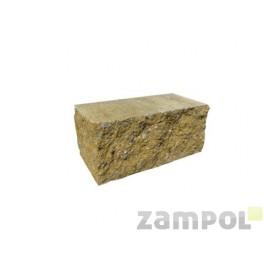 Cegła betonowa elewacyjna dwustronnie łupany CBE-9 N 1/2