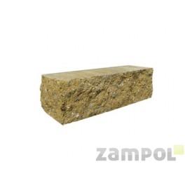 Cegła betonowa elewacyjna dwustronnie łupany CBE-9 N 3/4