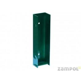Uchwyt do podmurówek betonowych 5 cm - Ocynk+Kolor