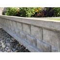 Podmurówka betonowa cegiełka 5x25cm, 250cm