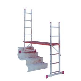 Rusztowanie drabinowe Krause Corda z adaptacją na schody